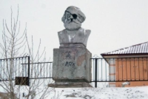 """У входа в московское метро вывесели портрет """"великого, дорогого Сталина"""" - Цензор.НЕТ 7742"""