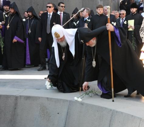 В РПЦ разъяснили слова Патриарха Кирилла по поводу Геноцида армян
