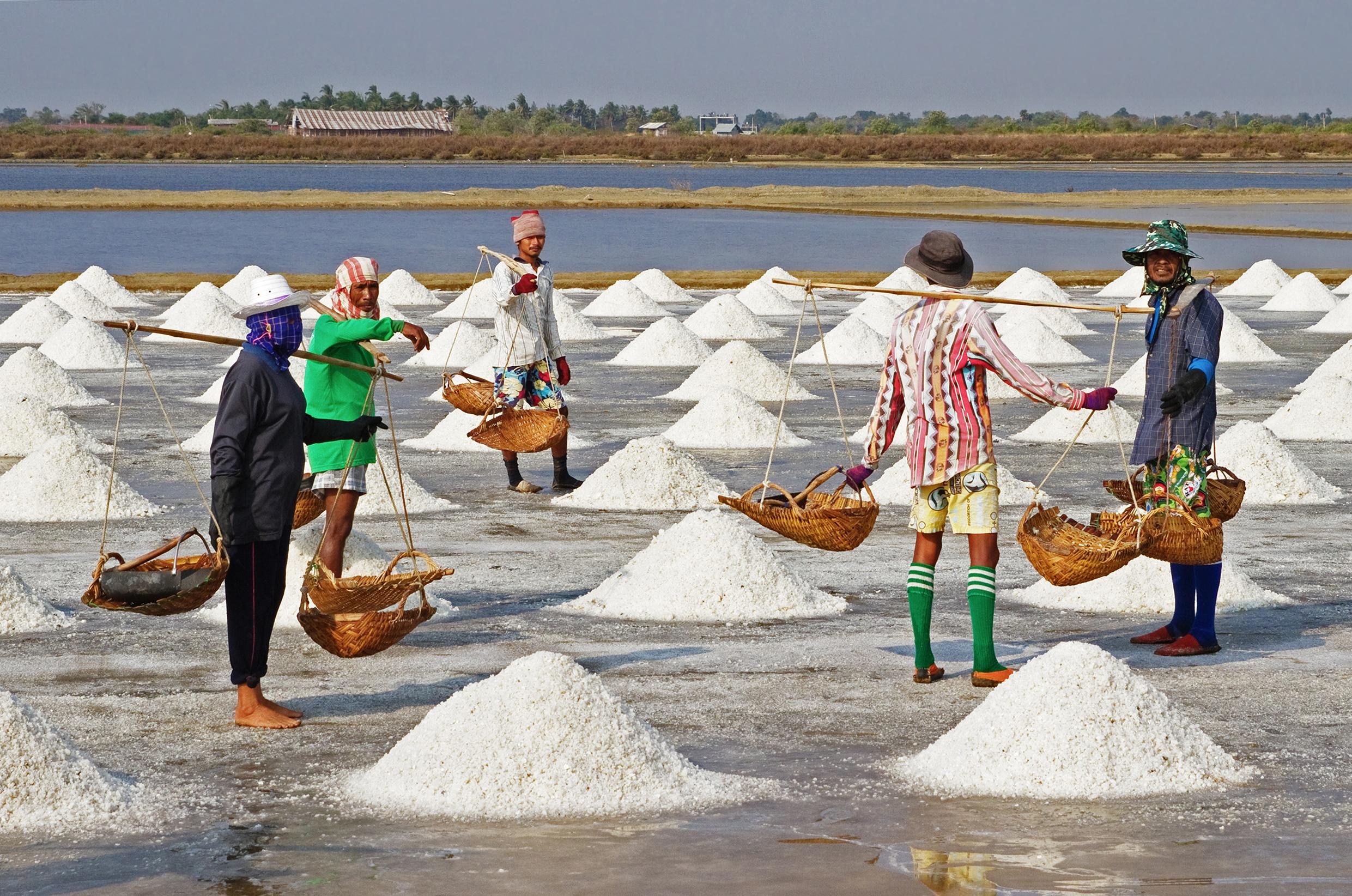 Соль добыча картинки