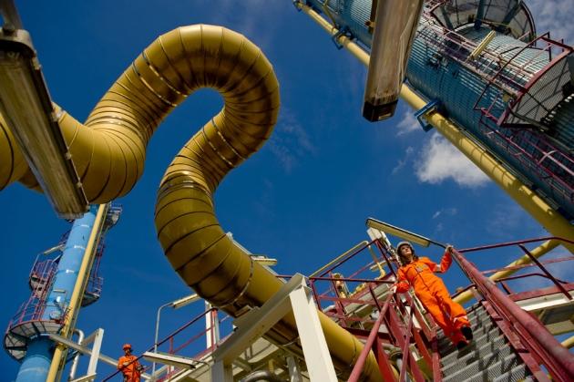 Газоперерабатывающий завод компании Gassco