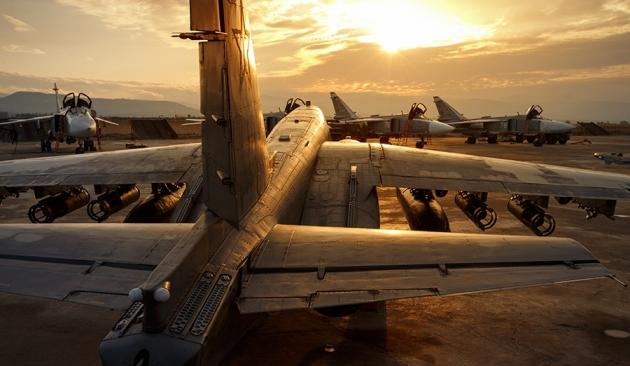 ВКС РФ на аэродроме «Хмеймим»