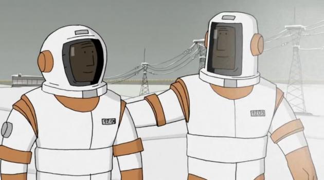 «Похлопывание по плечу» у космонавтов Бронзита