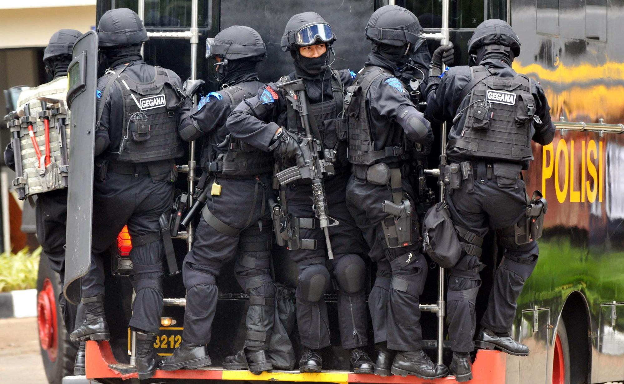 Антитеррористическое подразделение. Индонезия