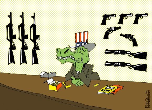 Слезливый крокодил удивляется, что Россия не видит в нём миротворца