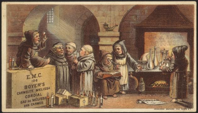 Монастырский завод по производству валериановой настойки. 1870 — 1900