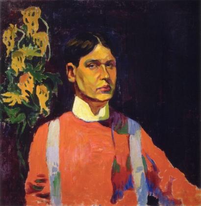 Аристарх Лентулов. Автопортрет. 1913