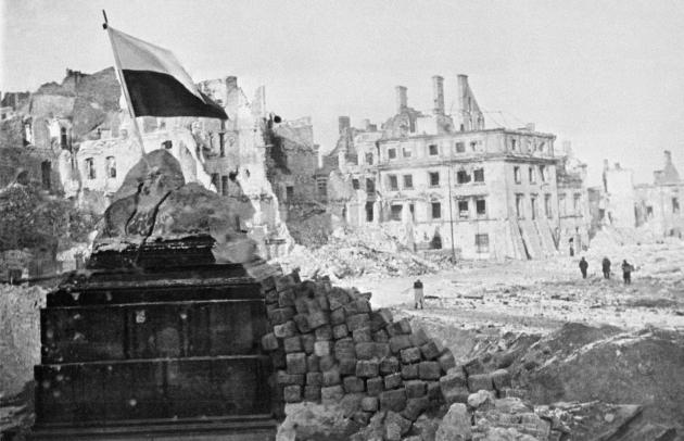 Освобожденная Варшава. 1945
