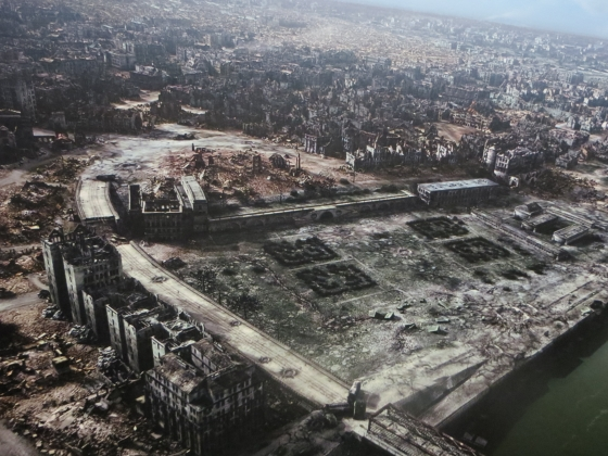 Варшава, 1945 Компьютерная реконструкция