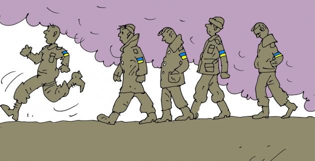 Украинские военные на контрабанде в Донбассе «заработали» 100 млн гривен
