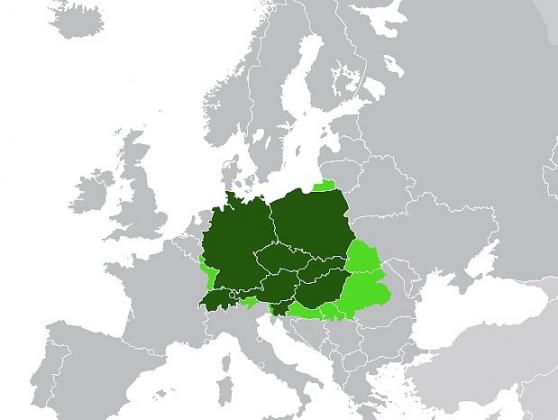 Подлинный австро-германский проект «Срединной Европы» (Mitteleuropa) — без провинциальных пассажиров