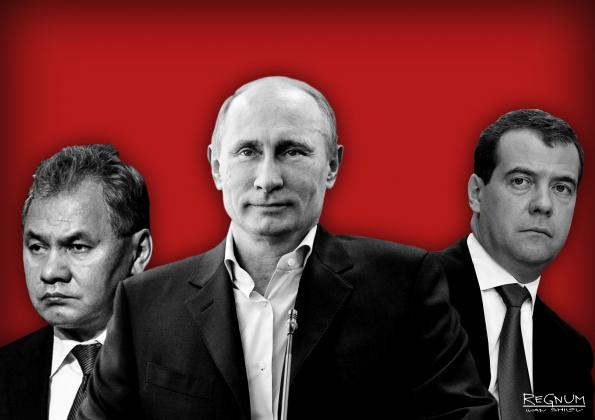 Россия после Путина: Шойгу – лидер сегодня, Медведев — лидер завтра