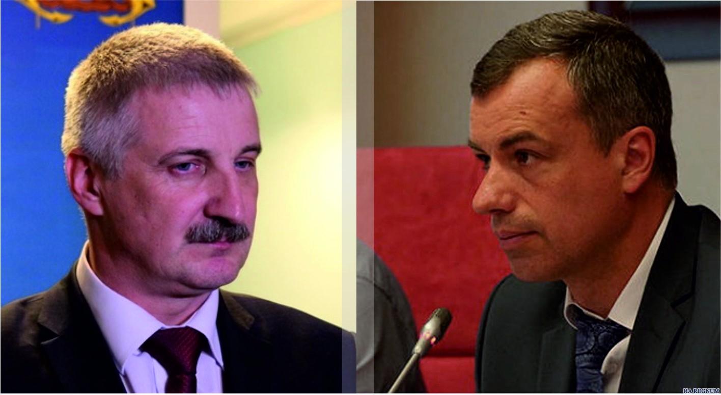 Денис Добряков и Владимир Денисов