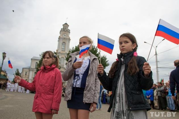Открытие памятника литовскому князю Ольгерду в Витебске