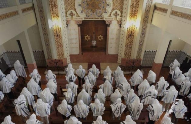 Синагога. Время молитвы