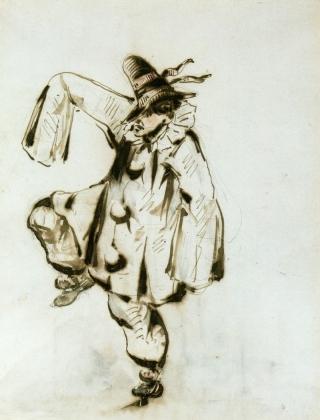 Эдуард Мане. Танец Пьерро 1849