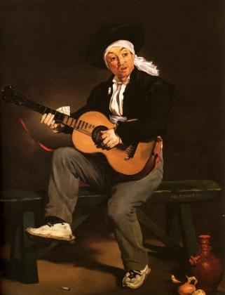 Эдуард Мане. Гитарреро. 1860