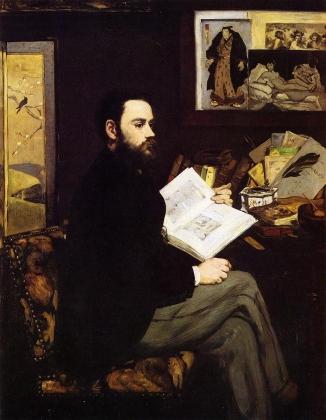 Эдуард Мане. Портрет Эмиль Золя 1868