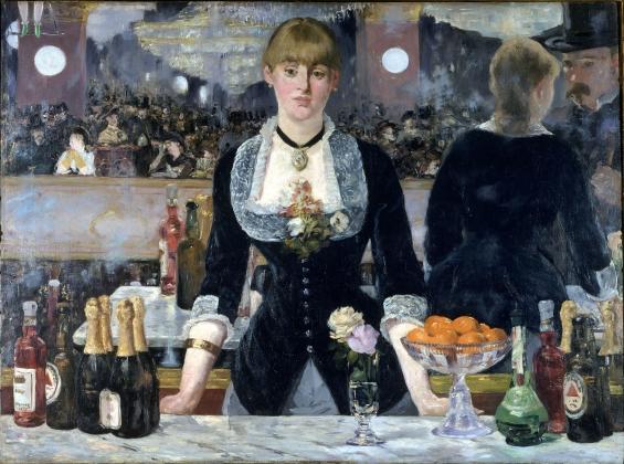 Эдуард Мане. Бал в Фоли-Бержер. 1882