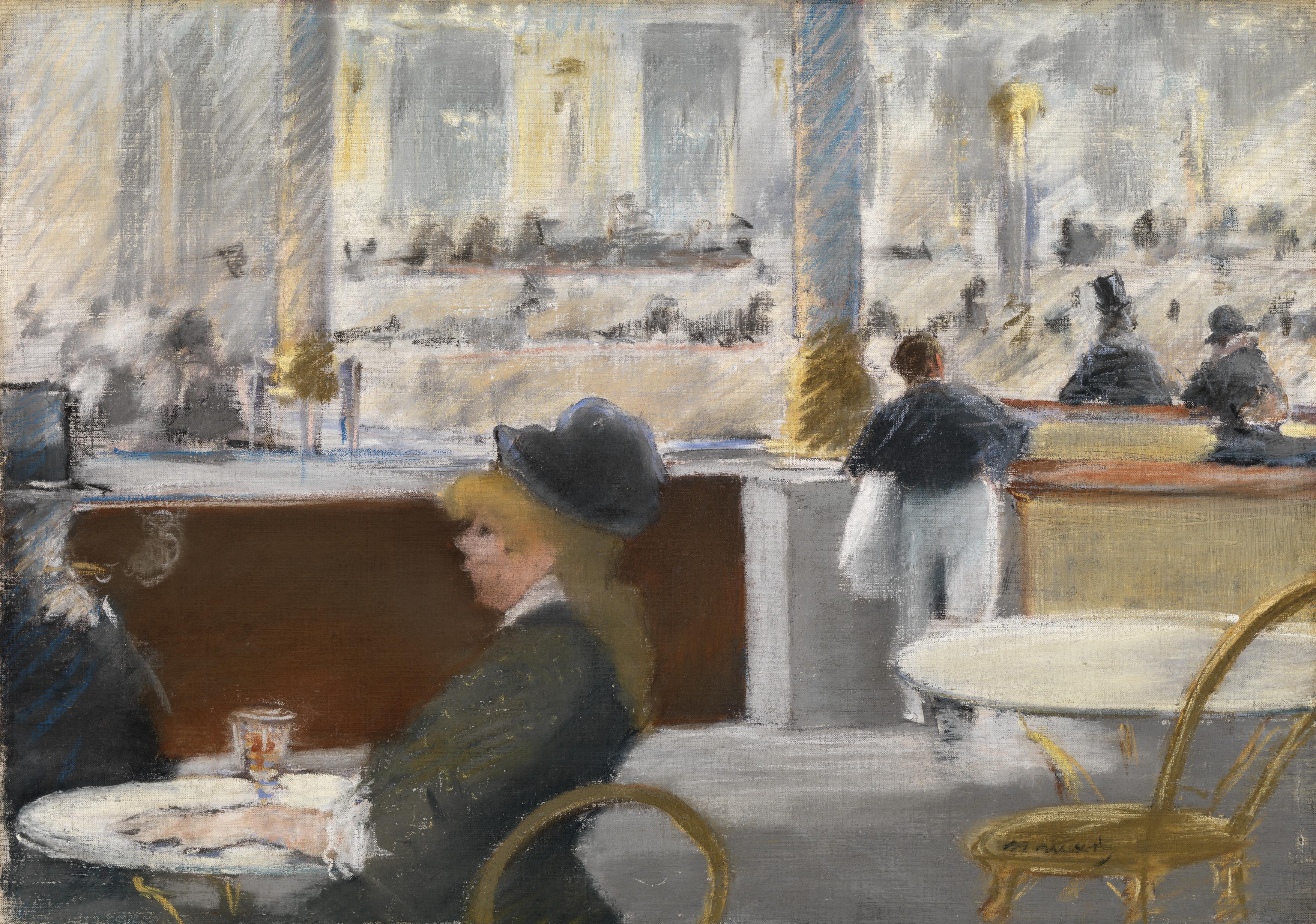 Картинки по запросу café de la nouvelle athènes
