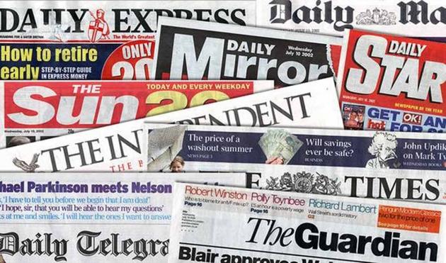 СМИ Великобритвании