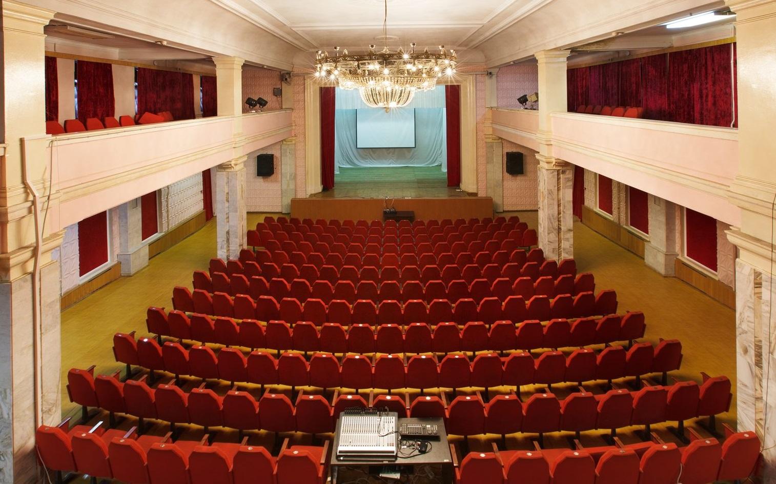 Схема зала во дворце ступино