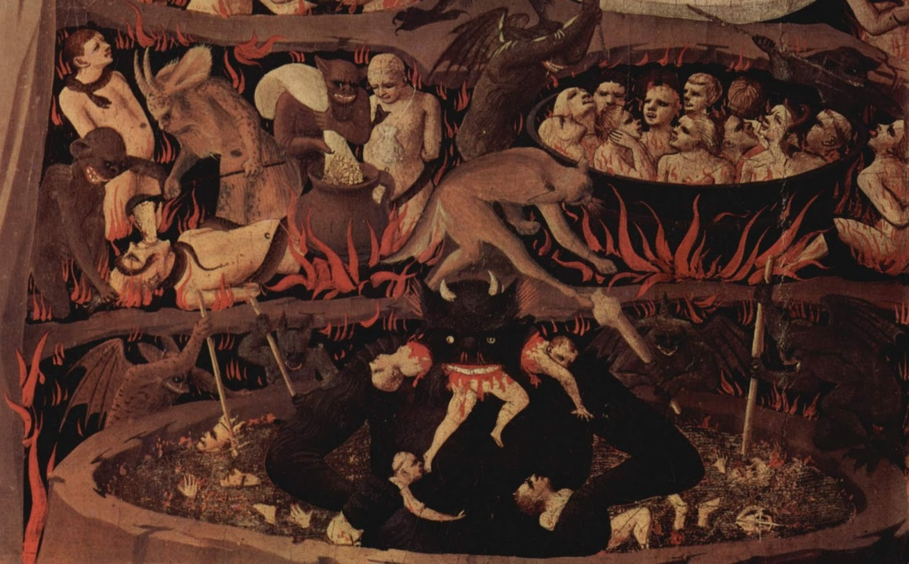 an analysis of types of punishment in inferno by dante