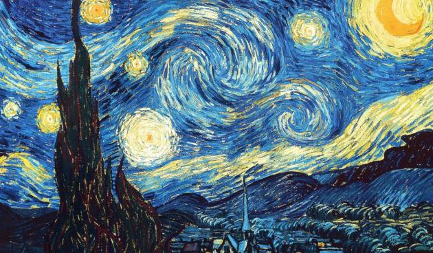 Винсет Ван Гог. «Звездная ночь». 1889г