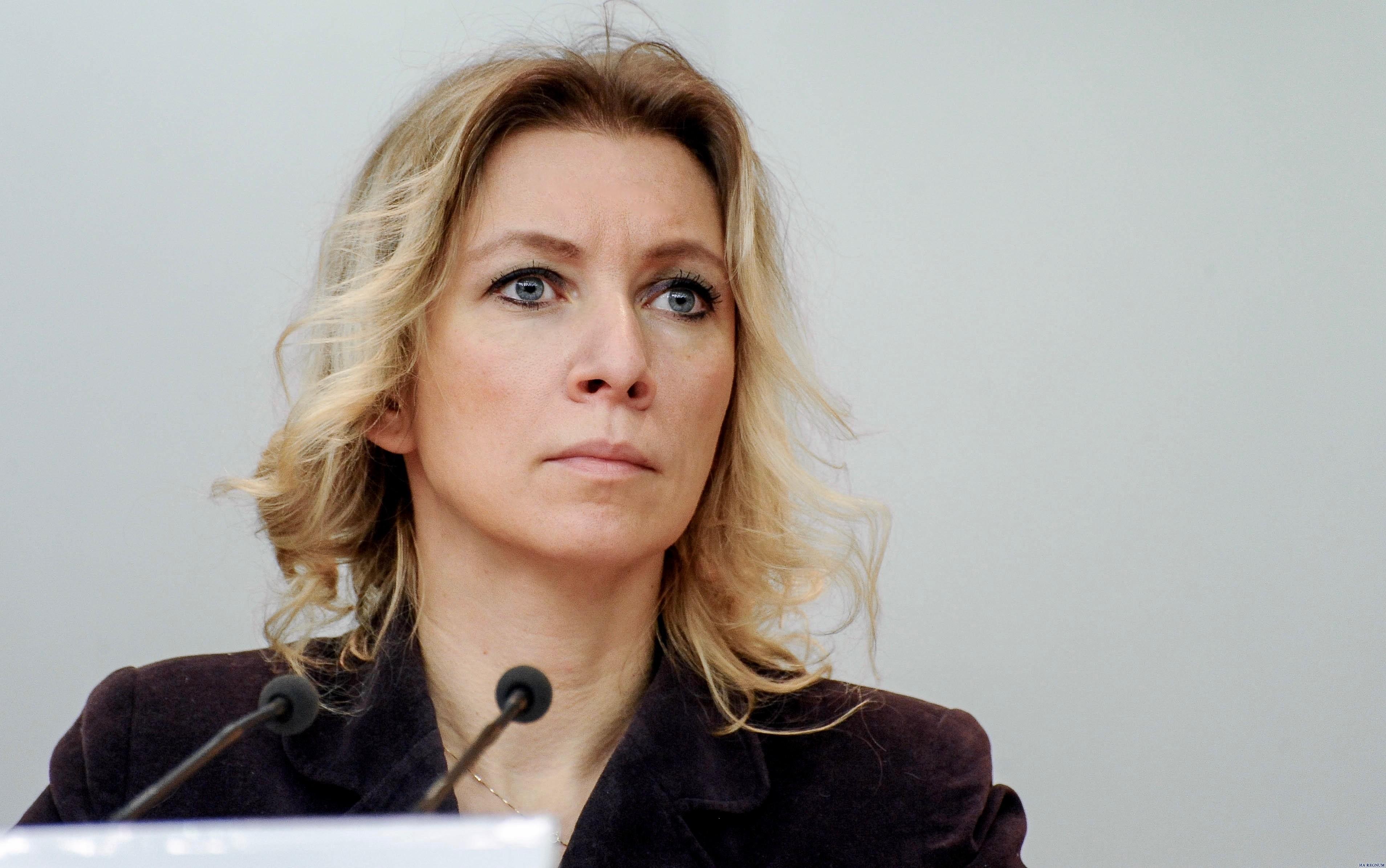 Захарова отреагировала на сообщения о «ядерной бомбе в Крыму»
