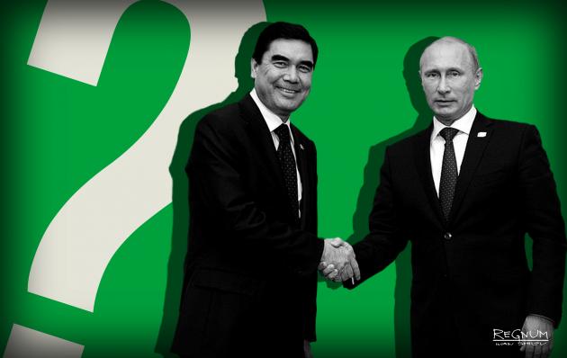 Гурбангулы Бердымухамедов и Владимир Путин