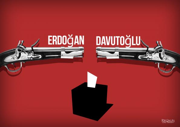Досрочные выборы: Эрдоган вызывает Давутоглу на политическую дуэль