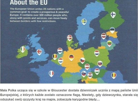 Британия убрала Польшу с карты Евросоюза