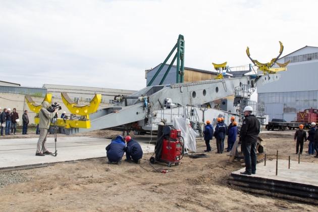Испытания транспортно-установочного агрегата для космодрома «Восточный» производства АО «Завод «Тяжмаш»