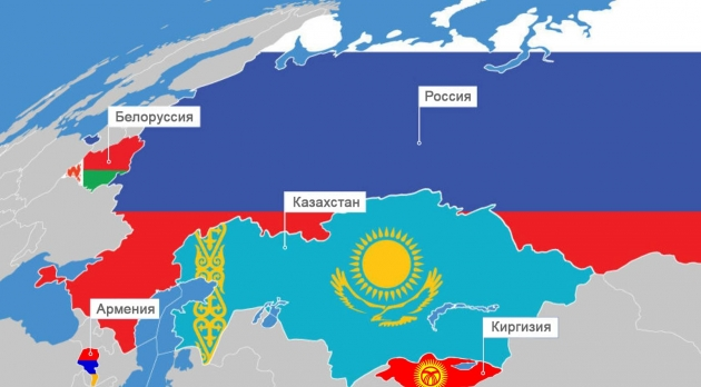 Карта ЕАЭС