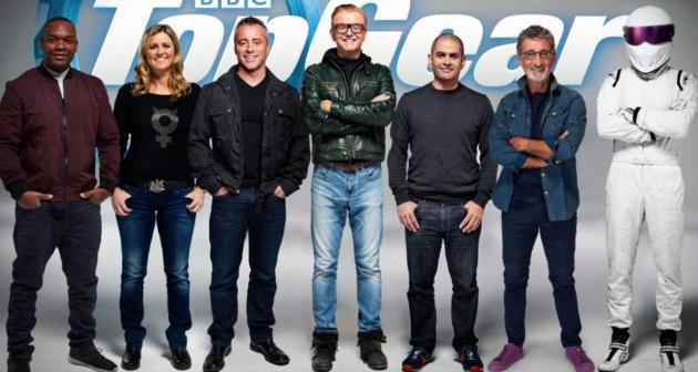 Объявлен полный состав ведущих Top Gear