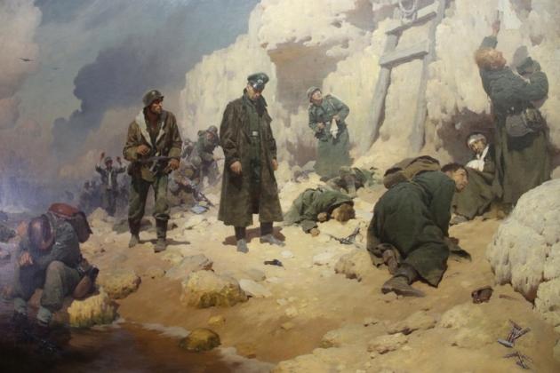Юрий Волков. «Расплата». Херсонесский мыс, 12 мая 1944 года