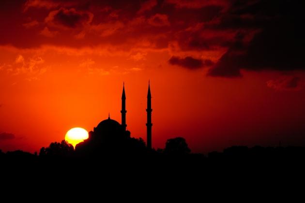 Стамбул. Закат