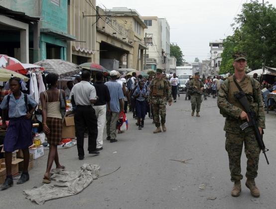 Гаити: Президент-то не настоящий!
