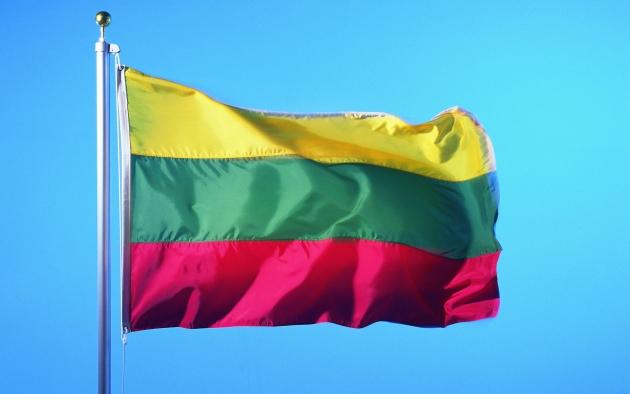 «Между тучами и морем гордо реет буревестник, черной молнии подобный». Флаг Литвы