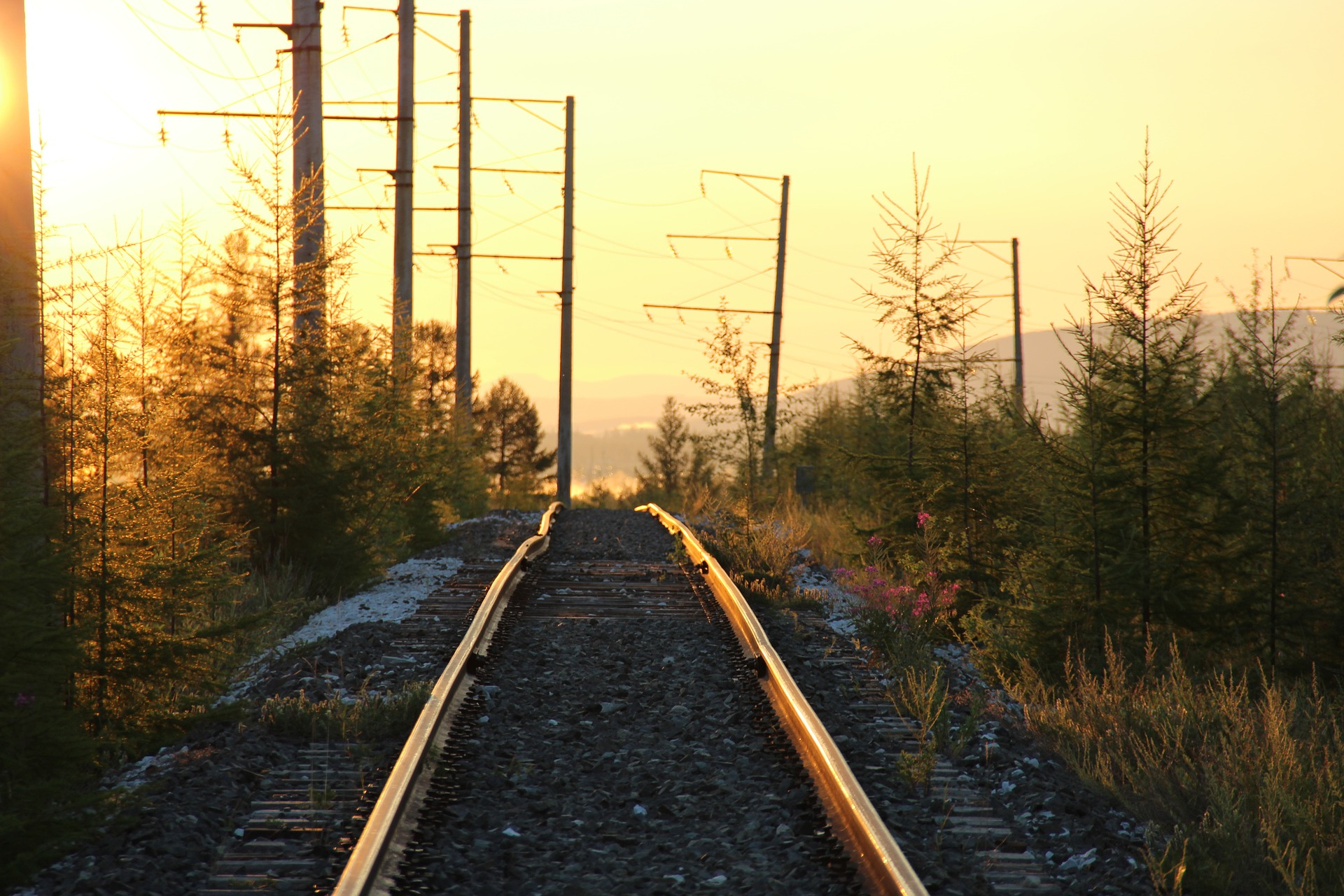 Сибирь. Восход