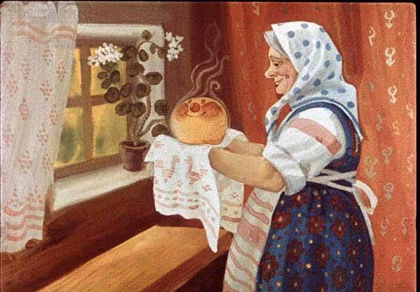 Польского Колобка загоняют в Русскую печь