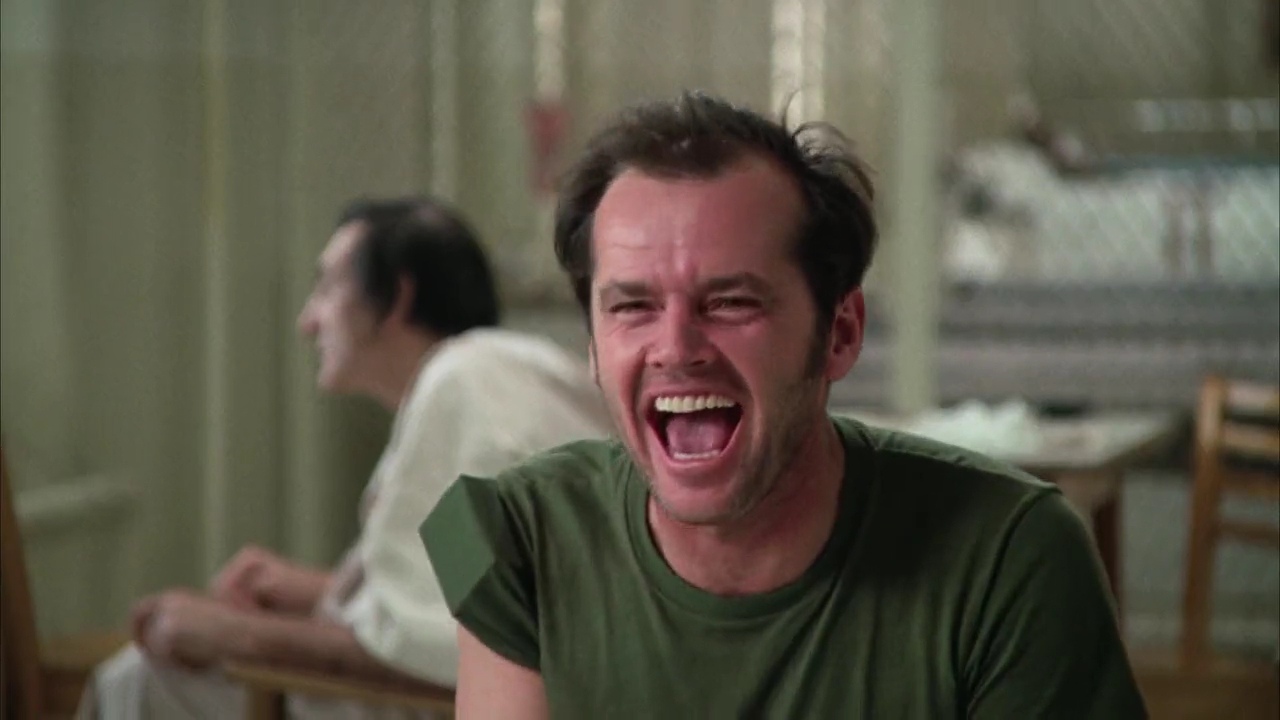 a narrative of the movie one flew over the cuckoos nest and the role of mcmurphy as a liberator
