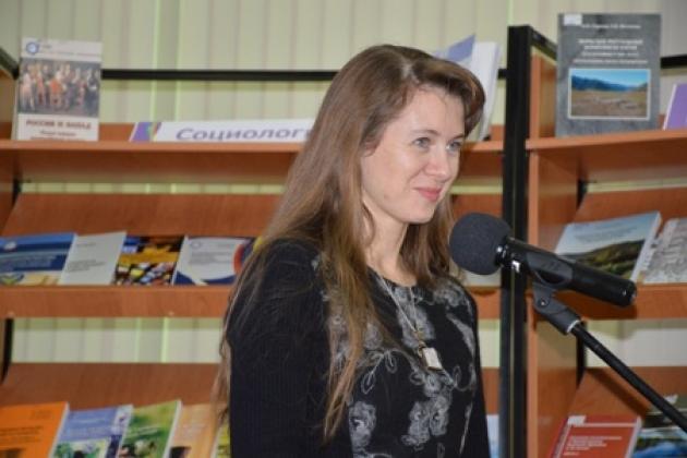 Начальник управления Алтайского края по культуре иархивному делу Елена Безрукова
