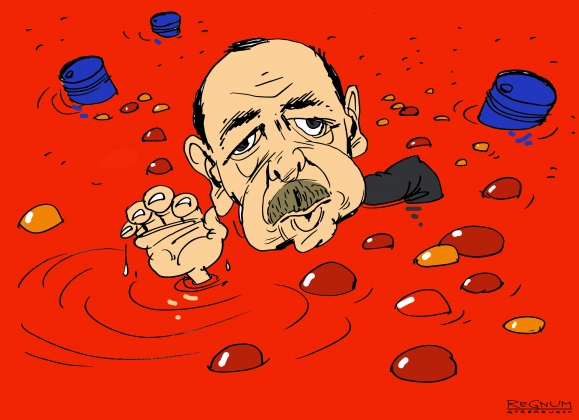 Реджеп Эрдоган. Плавание