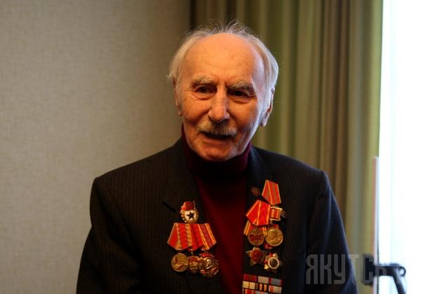 Участник Сталинградской битвы Владимир Михайлович Калинин