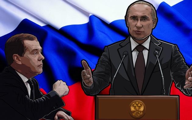Дмитрий Медведев «у барьера»
