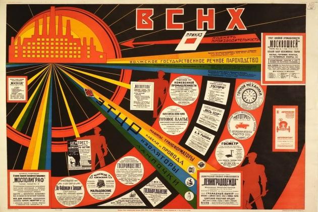 Всесоюзный Совет народного хозяйства. Приказ поднять производительность. 1925