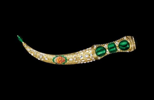 Кинжал из османского дворца Топкапы