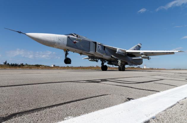 Российский самолёт Су-24