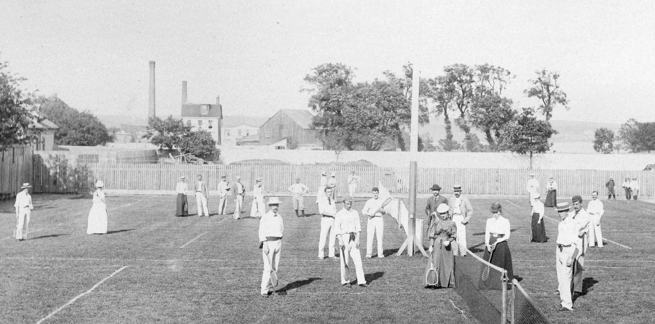 Лаун-теннис в Галифаксе, Канада. 1900-е