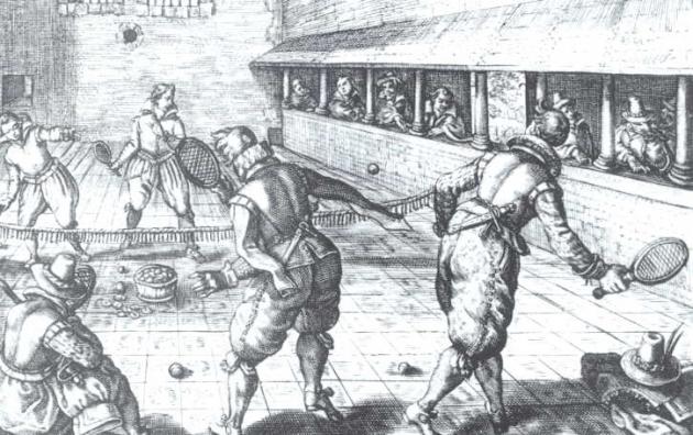 Жё-де-пом. XVII век